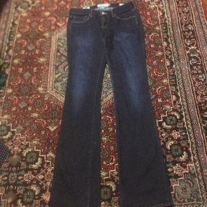 LUCKY BRAND dark blue jeans